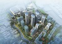 中房柳铁新城效果图|鸟瞰图