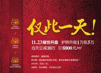 地王公馆广告欣赏|11月23日开盘