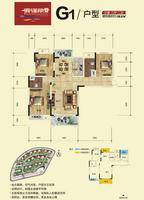 滨海丽景G1户型图