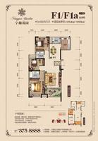 松江宁越花园11#F1 F1a3室2厅2卫115.46�O