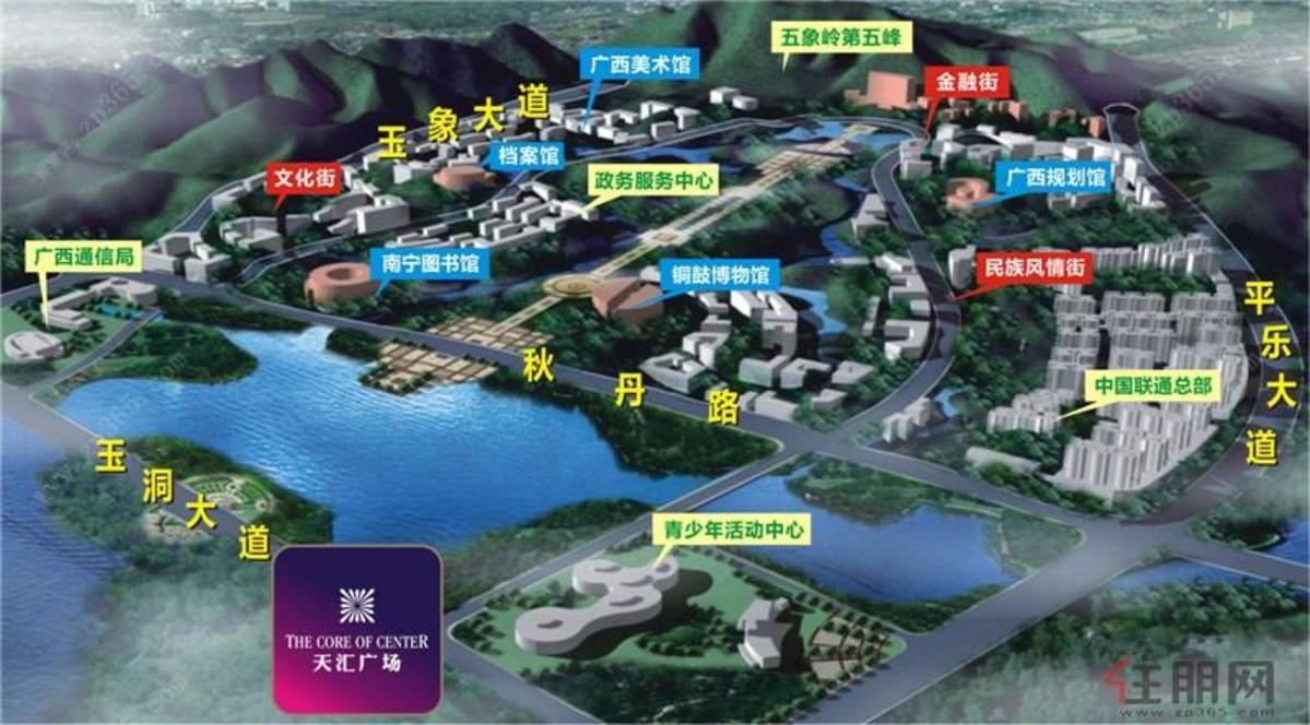 合景天汇广场区位图