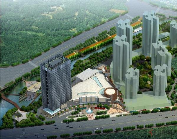 台北中心鸟瞰图
