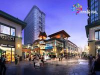 荟金亚太经贸中心效果图|透视内街
