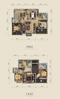 中房翡翠湾英伦别墅C1户型6室3厅4卫363.84�O