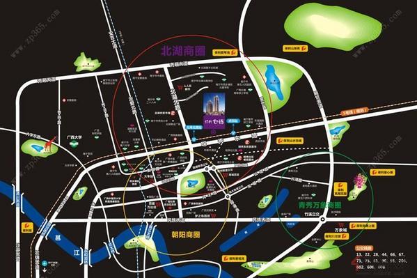 保利心语交通区位图