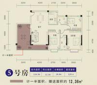 2#楼5号房户型
