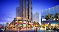 柳州万达广场效果图|万达东区商铺效果图