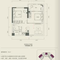 G2户型——超级两房