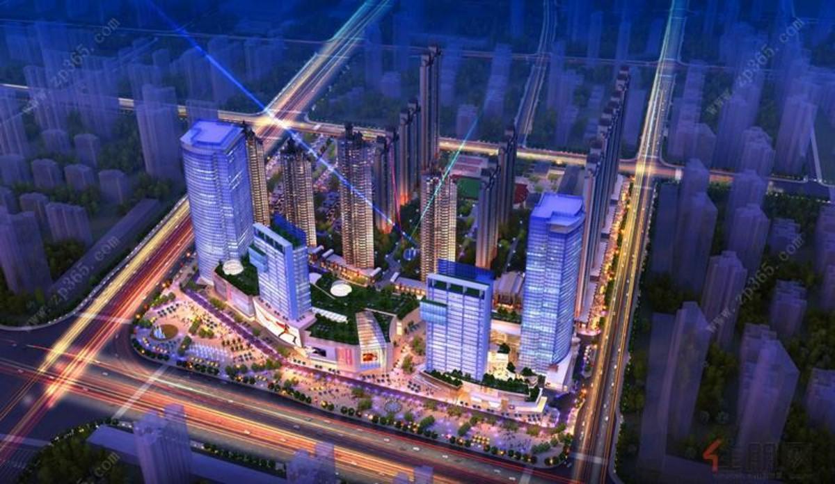 合景天汇广场鸟瞰图1