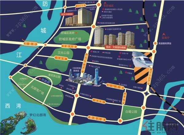 佳润文昌国际商城区位图