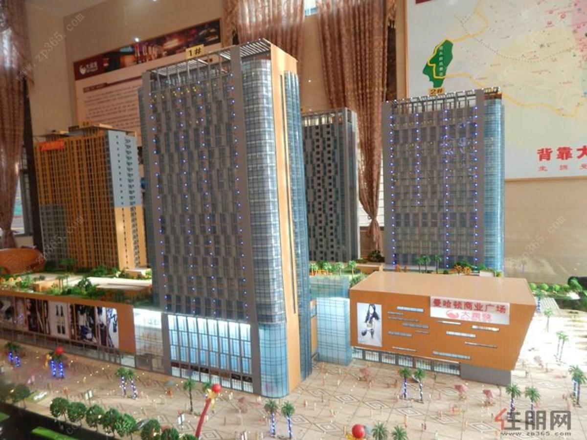 曼哈顿商业广场 效果图