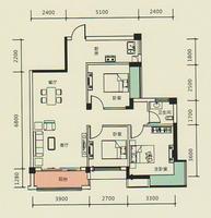 4#楼A1户型