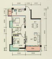 4#楼A4户型