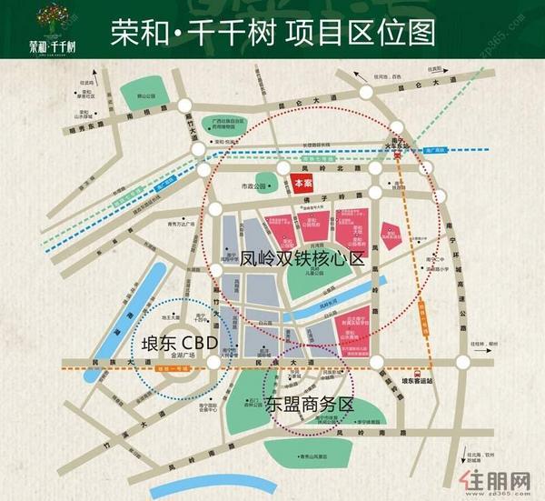 荣和·千千树交通图(2014.5.15)