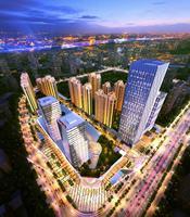 柳州万达广场效果图|项目鸟瞰图