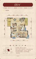 铜锣湾1栋05户型3室2厅2卫120.33�O