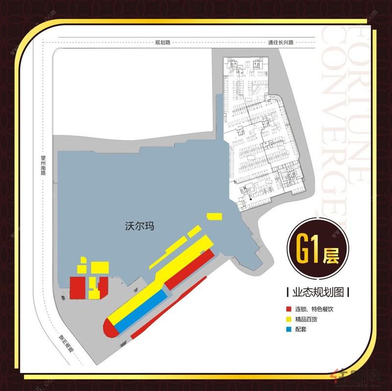 G1层业态规划图