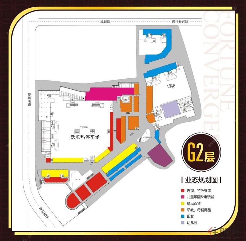 G2层业态规划图