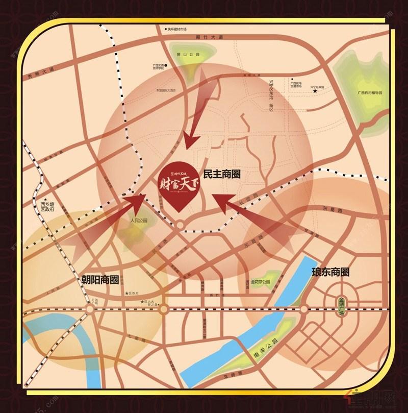 商业交通图