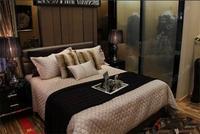龙光普罗旺斯样板间图|凡尔赛庄园样板房卧室