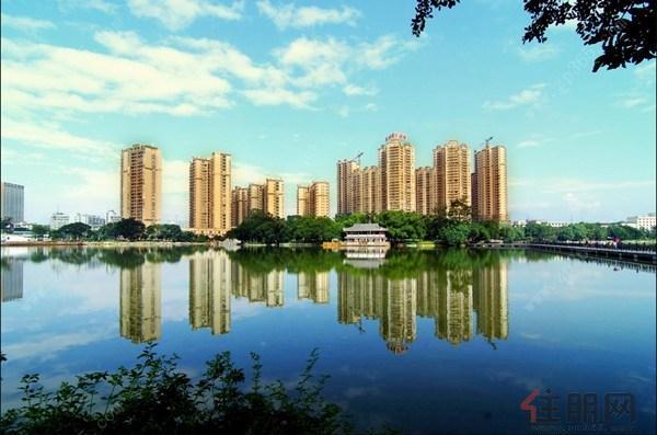 广汇东湖城实景图