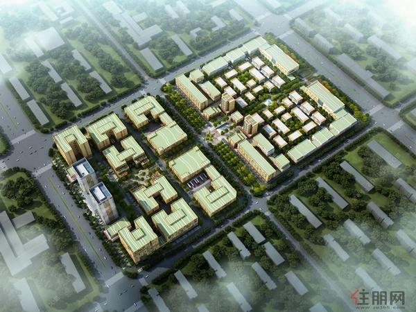 产投(江南)企业公园鸟瞰图