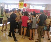 振业・尚府活动图片 售楼部聚集许多客户
