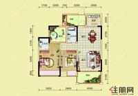 粤海时代新城粤海9#c7户型图3室2厅2卫0.00�O