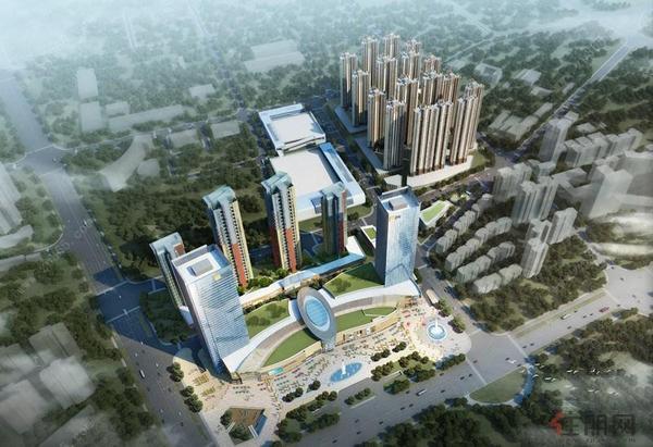 柳州华润中心项目效果图