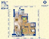 中房柳铁新城C3室2厅2卫0.00�O