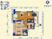 中房柳铁新城B-13室2厅2卫113.00�O