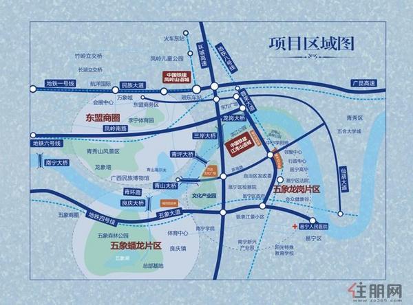 项目最新交通图