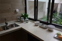 中国铁建・江湾山语城样板间图|134�O厨房一角
