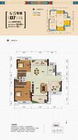 锦达香格里拉4#5#楼033室2厅2卫0.00�O