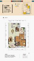 锦达香格里拉4#5#楼073室2厅2卫0.00�O