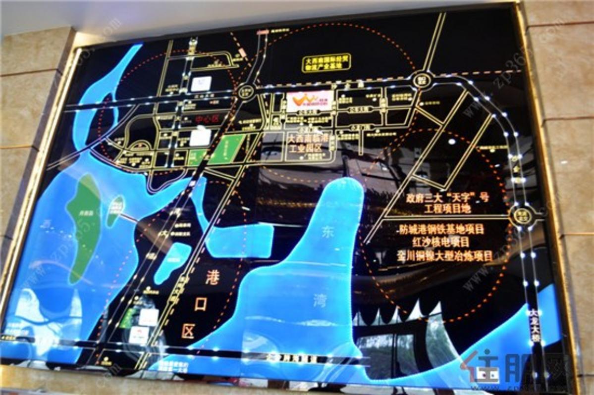 桂海东盟商贸中心区位图