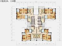 锦绣丽园C地块2#、11#楼D户型0室2厅2卫117.20�O