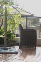 江山墅样板间图|阳台实景图