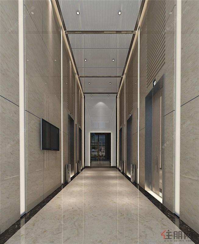 办公楼电梯效果