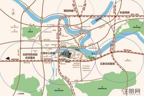 項目交通圖