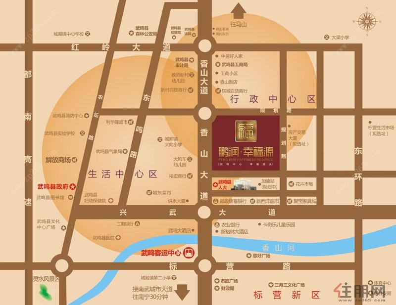 南宁市武鸣区地图