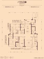 盛天东郡9#楼301.24�O户型16室2厅6卫301.24�O