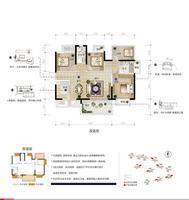 骋望天玺D户型4室2厅2卫112.00�O