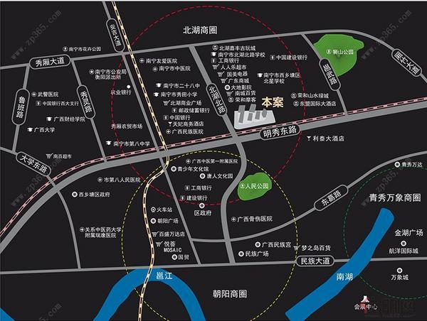 大唐·天城区域图
