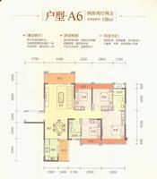 云星・钱隆世家5#A64室2厅2卫118.00�O