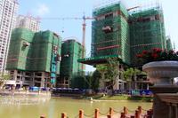 万昌・东方巴黎水岸实景图|2#、3# 楼12月最新工程进度实景图