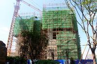 万昌・东方巴黎水岸实景图|4#楼12月最新工程进度实景图