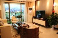 柳州恒大雅苑样板间图|140�O客厅