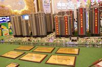 柳南万达广场实景图|沙盘图