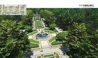 五象明珠效果图|主入口景观轴线鸟瞰图